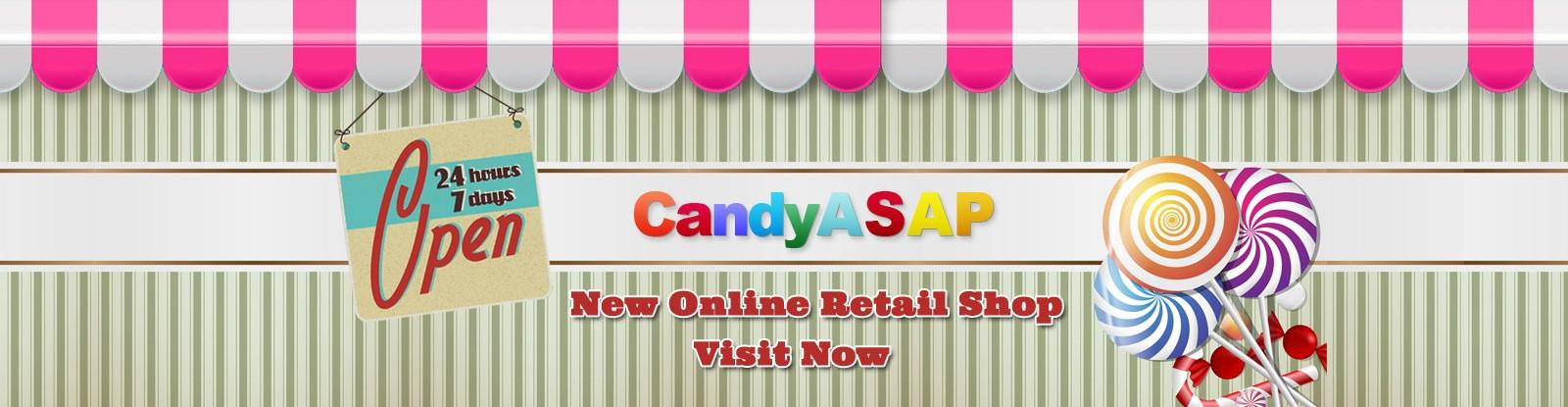 CandyAsap – New Retail Online Shop
